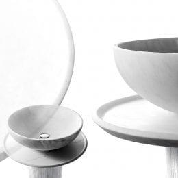 Nabhi bowl 4 - Bianco Calacatta