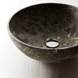 Nabhi Bowl 4 - Emperador Dark
