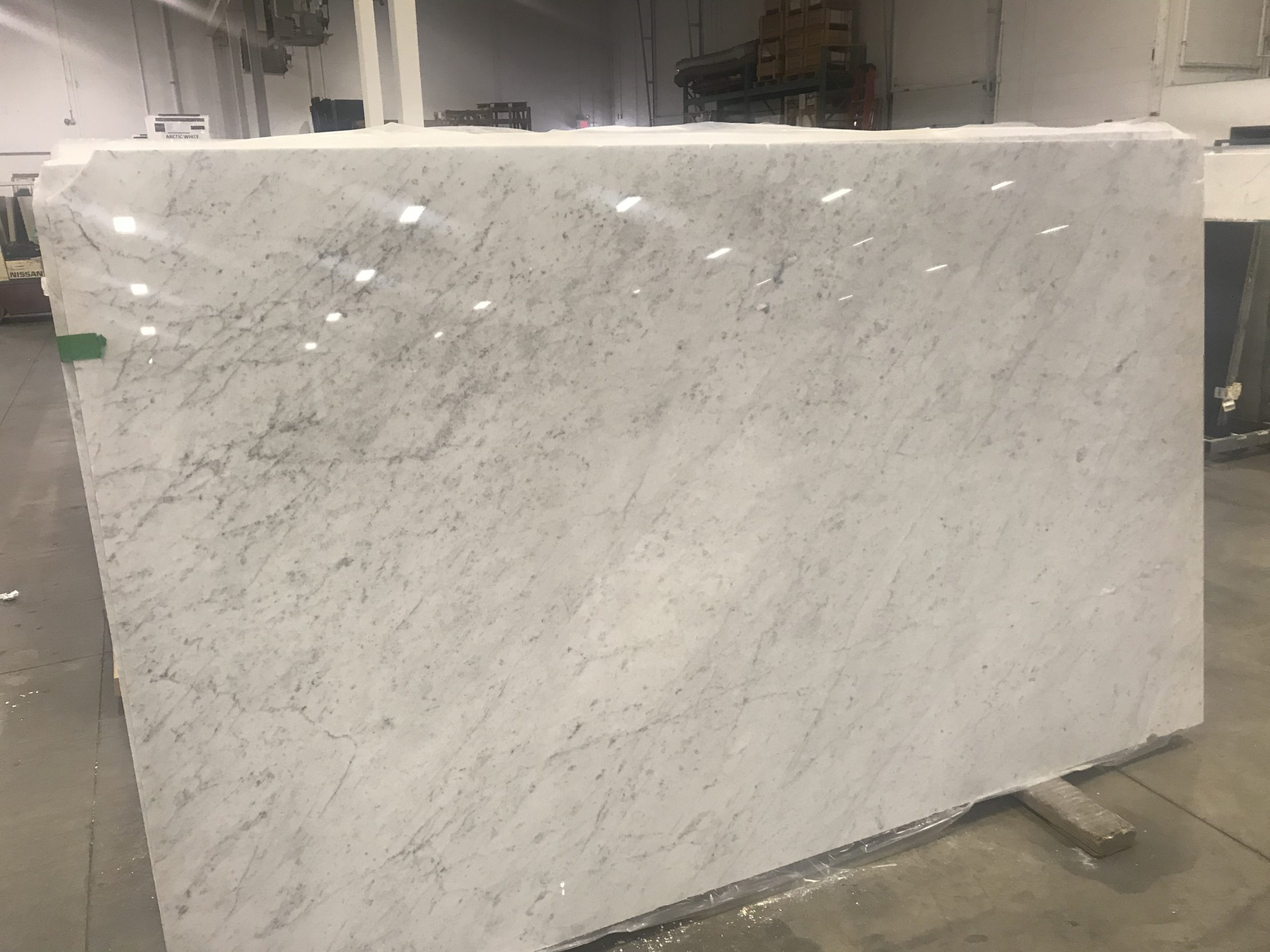 Bianco Carrara Marble Slab Martinique