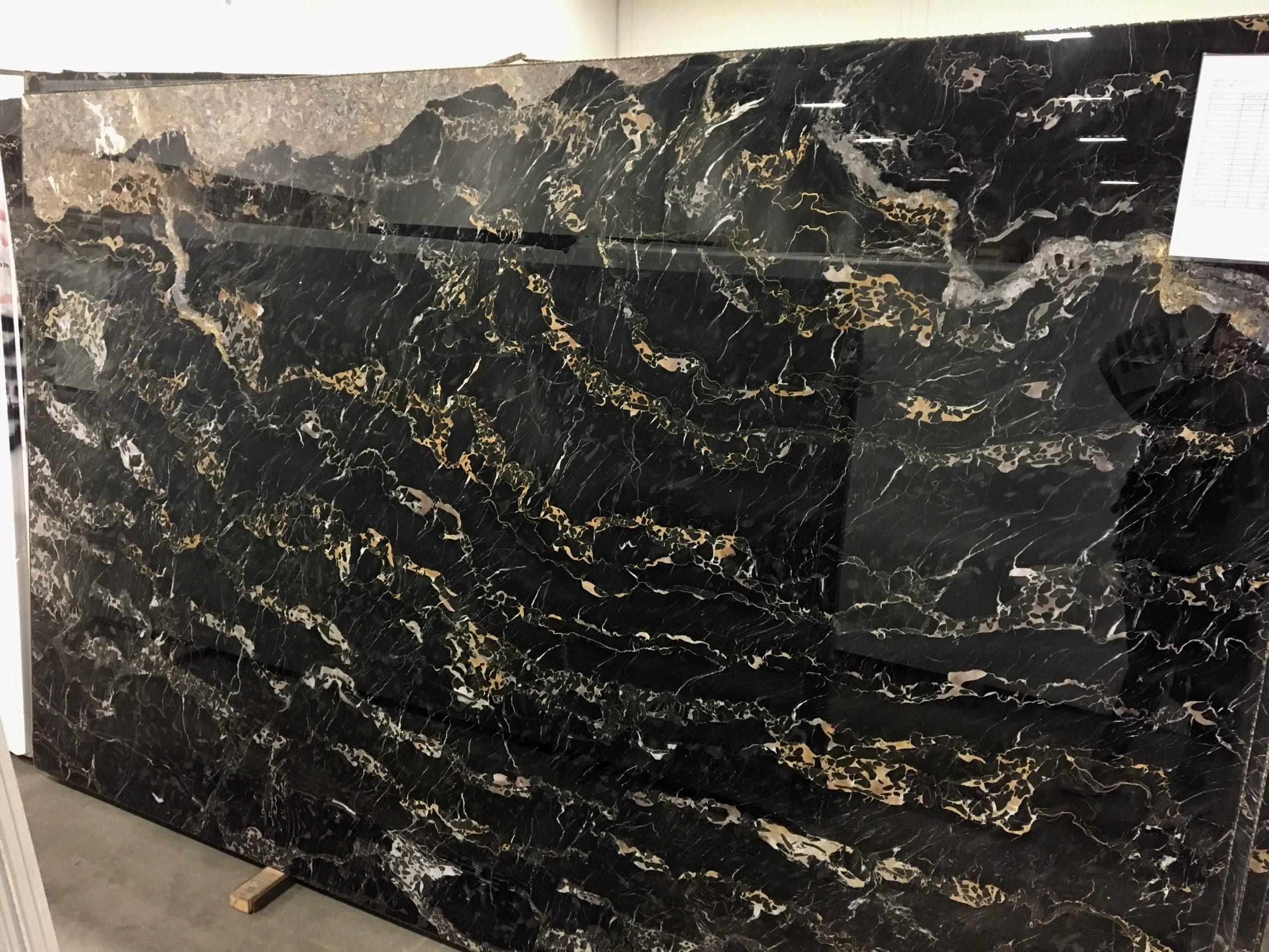 Nero Portoro Slabs Marble Trend Marble Granite Tiles