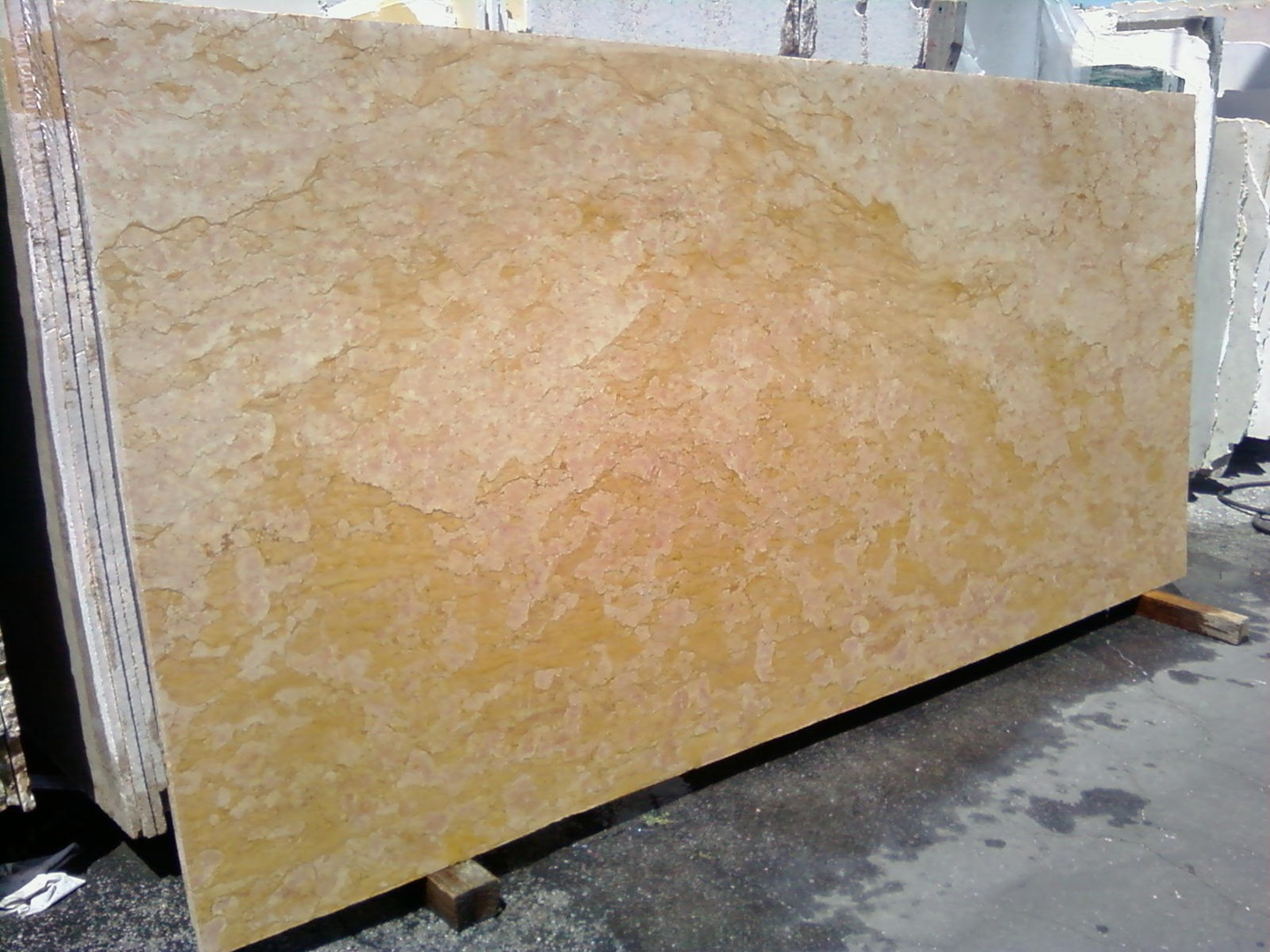 Giallo Reale Slabs Marble Trend Marble Granite Tiles