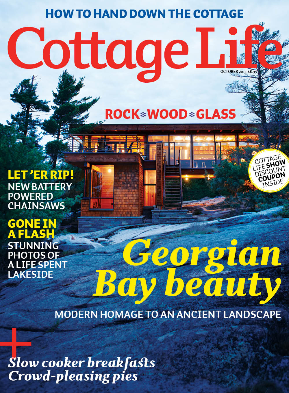 Cottage Life Magazine Feature Project 2013