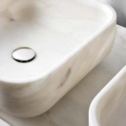 Nabhi Bowl no.3 Bianco Calacatta