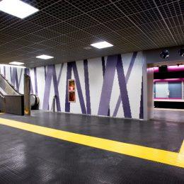 Metro Mugnano, Naples, Italy