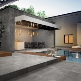 StoneOne Dark Porcelain Pavers