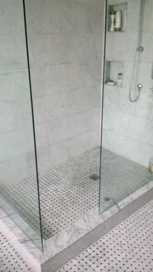 Bathroom Bianco Carrara Marble Trend Marble Granite