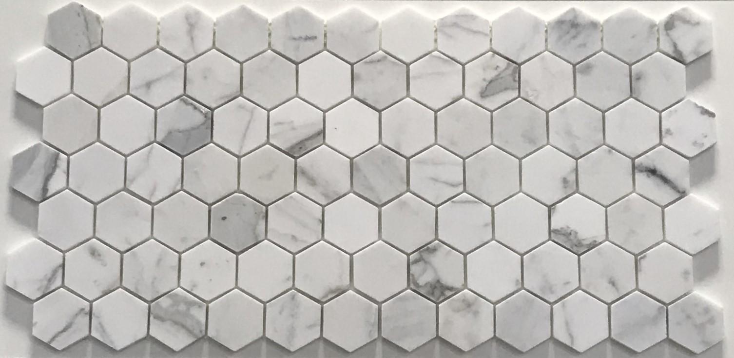 Bianco Carrara Hexagon Marble Trend Marble Granite