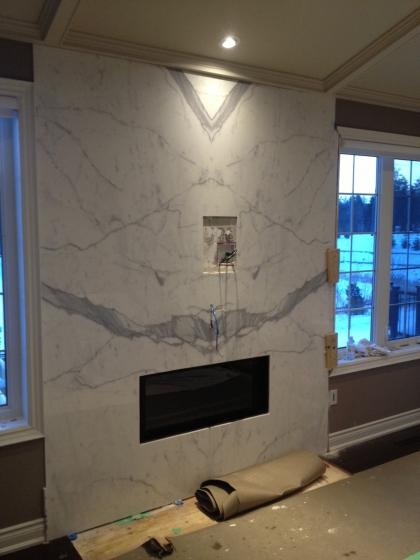 Fireplace Statuario Venato Marble Trend Marble