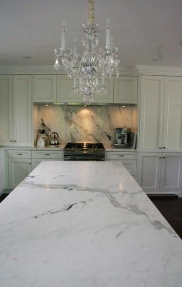 Kitchen Calacatta Capraia Marble Trend Marble