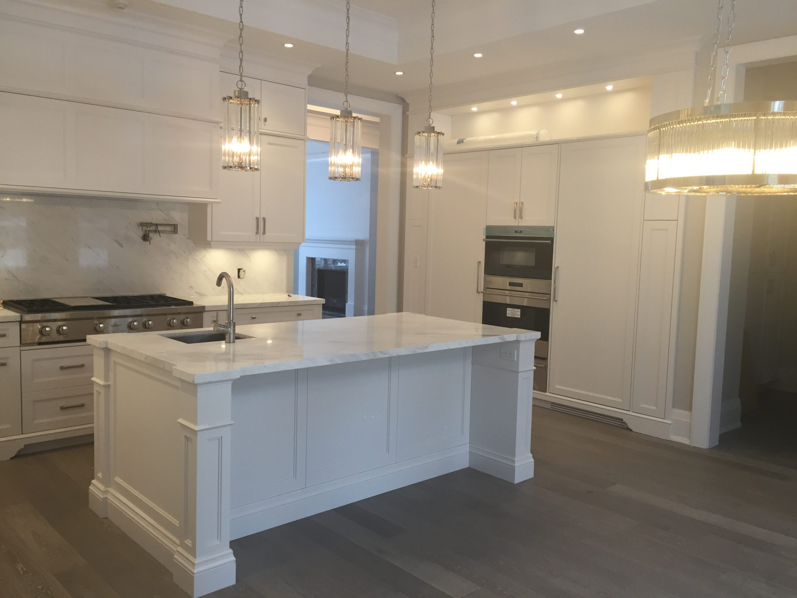 Kitchen Vienna White Marble Trend Marble Granite