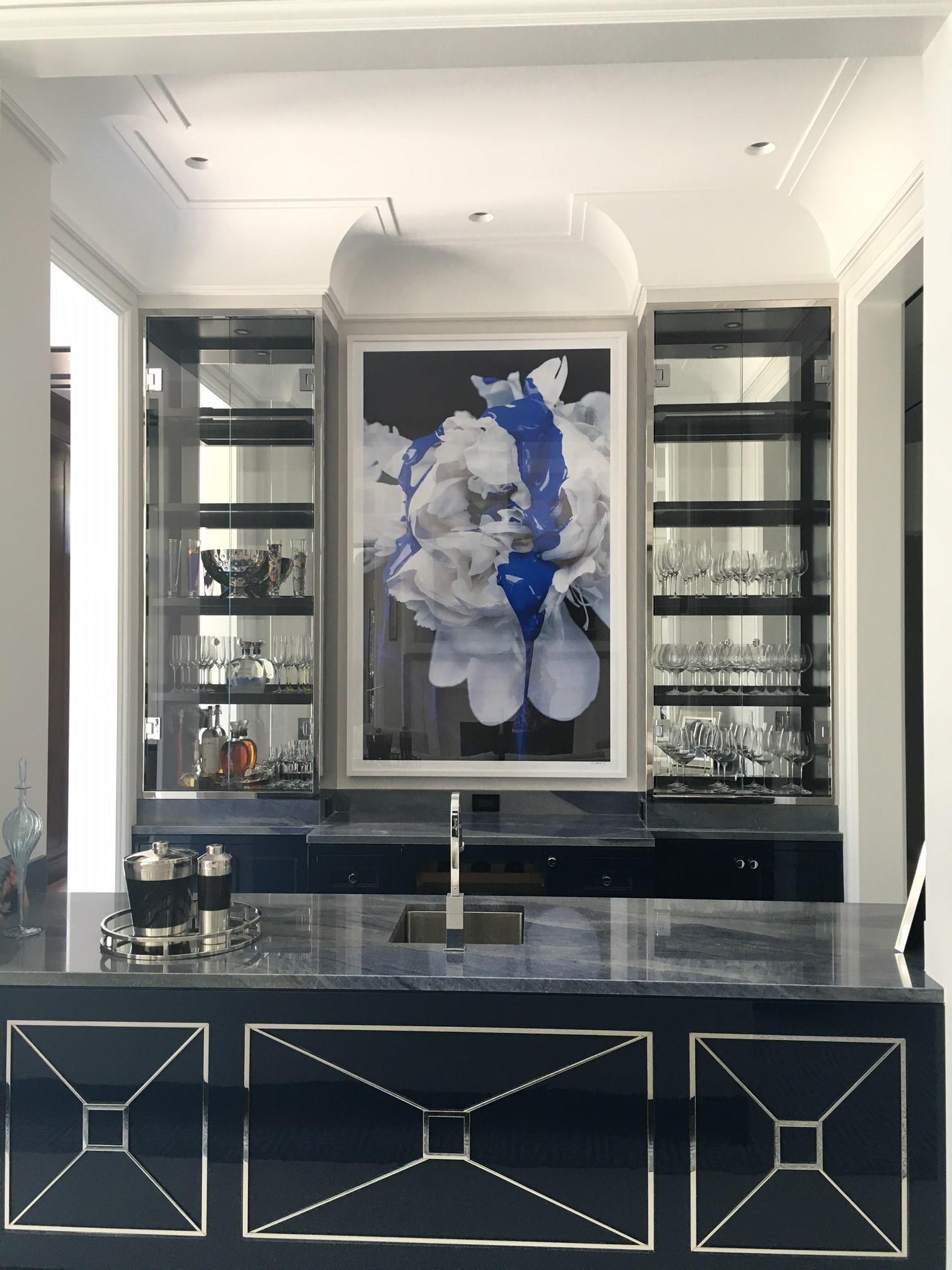Bar Top Azul Macaubas Marble Trend Marble Granite