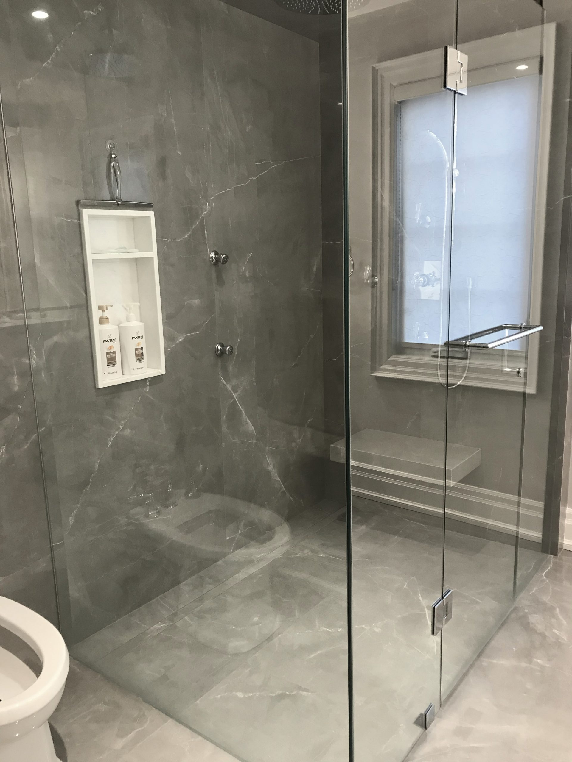 bathroom tiles toronto bathroom timeless gris de savoie amp vienna white marble 11842