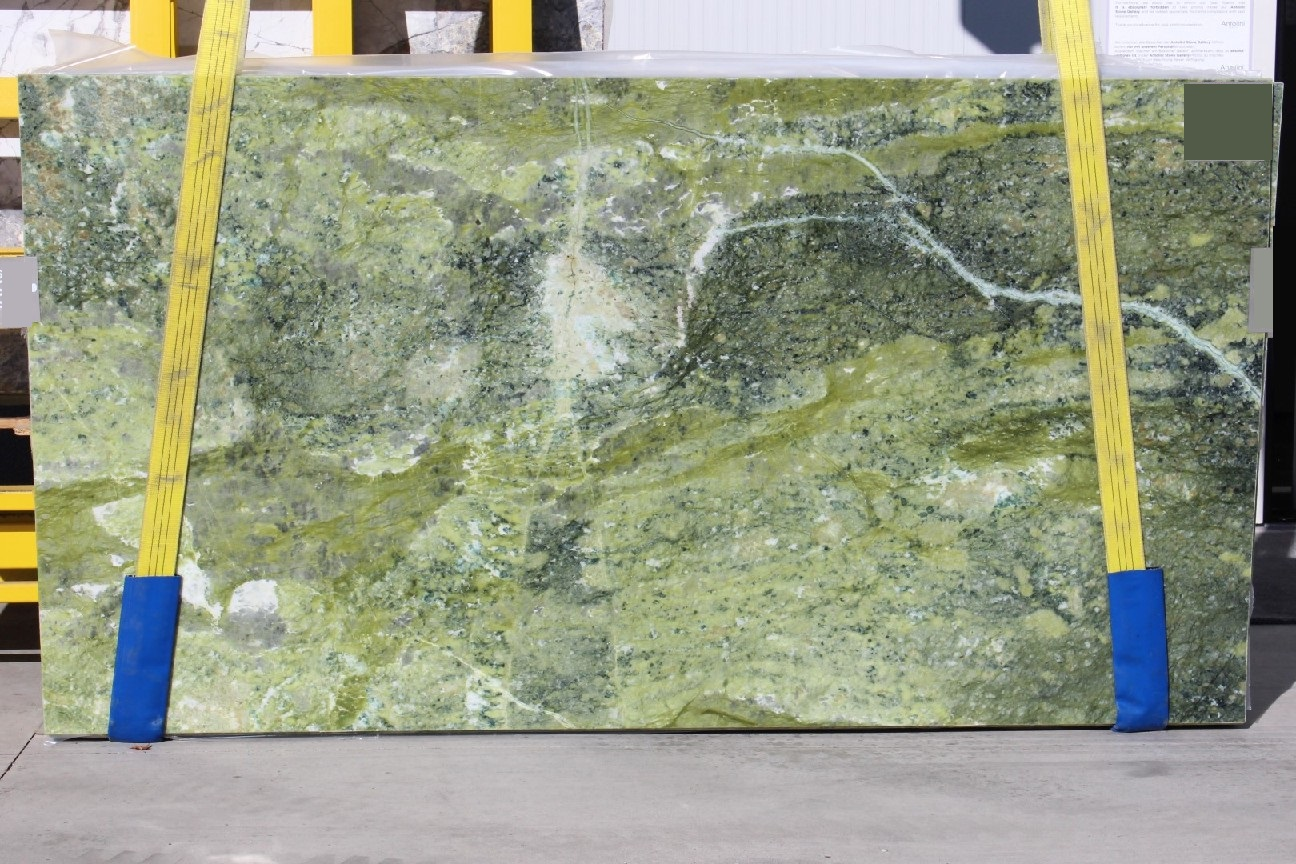 Ming Green Slabs Marble Trend