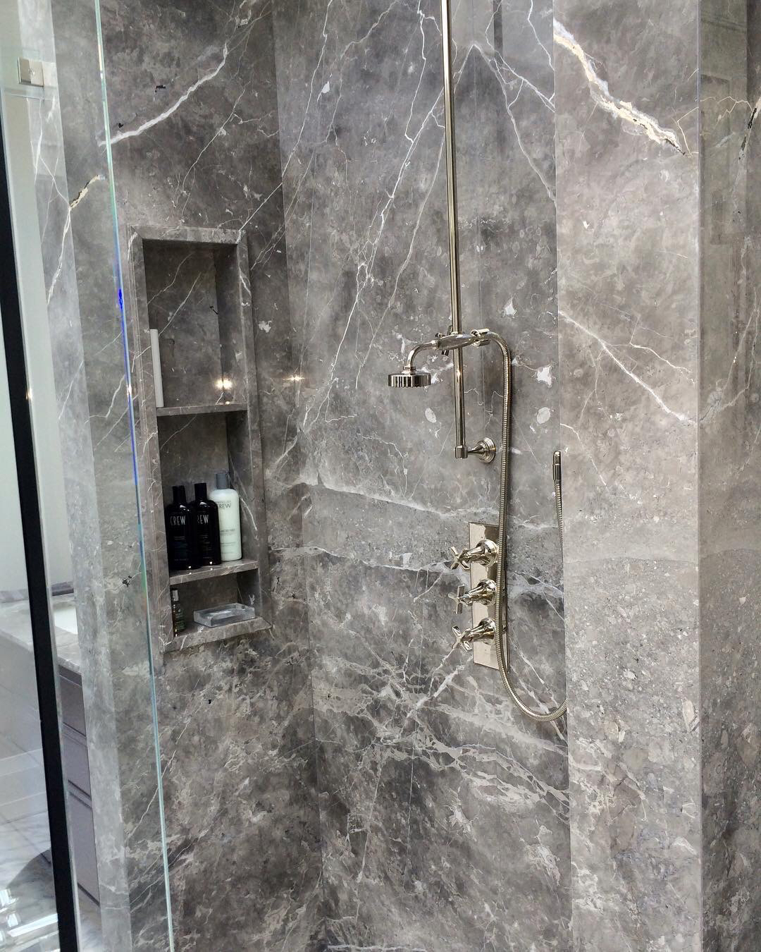 Shower Fior Di Bosco Marble Trend Marble Granite