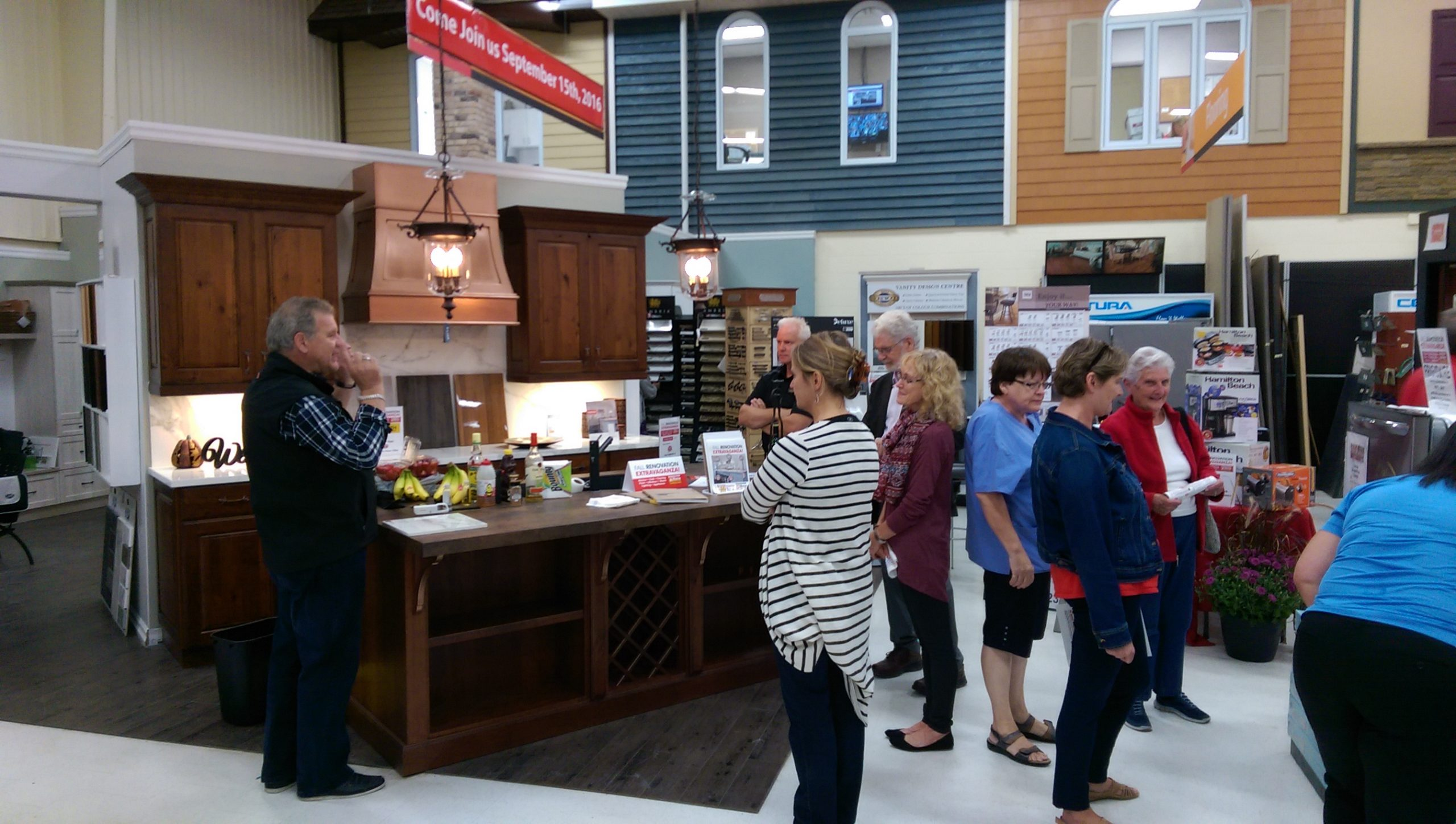 Home Hardware Hanover Neolith Debut Event - 2016