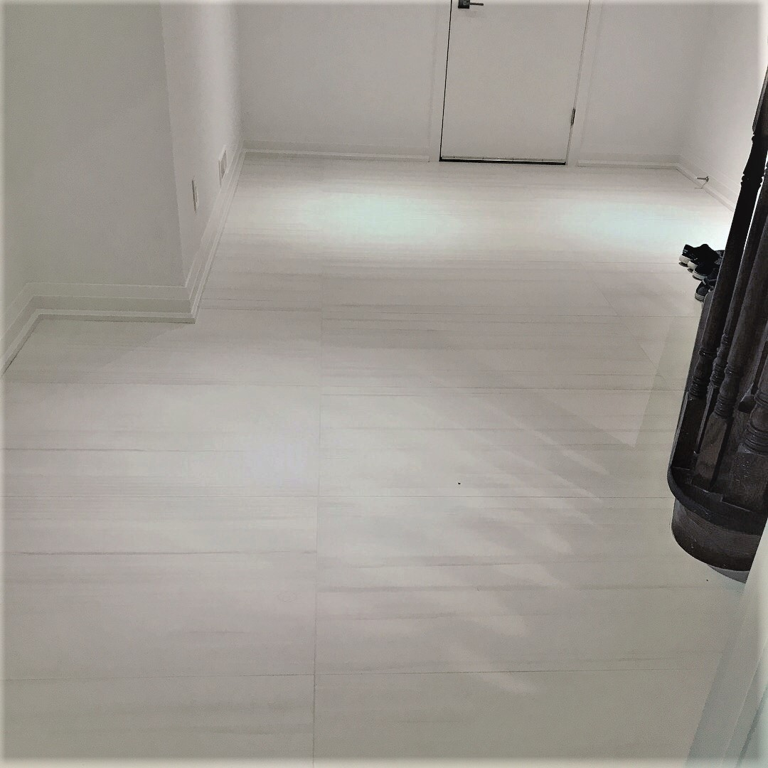 Floor - Bianco Lasa Porcelain