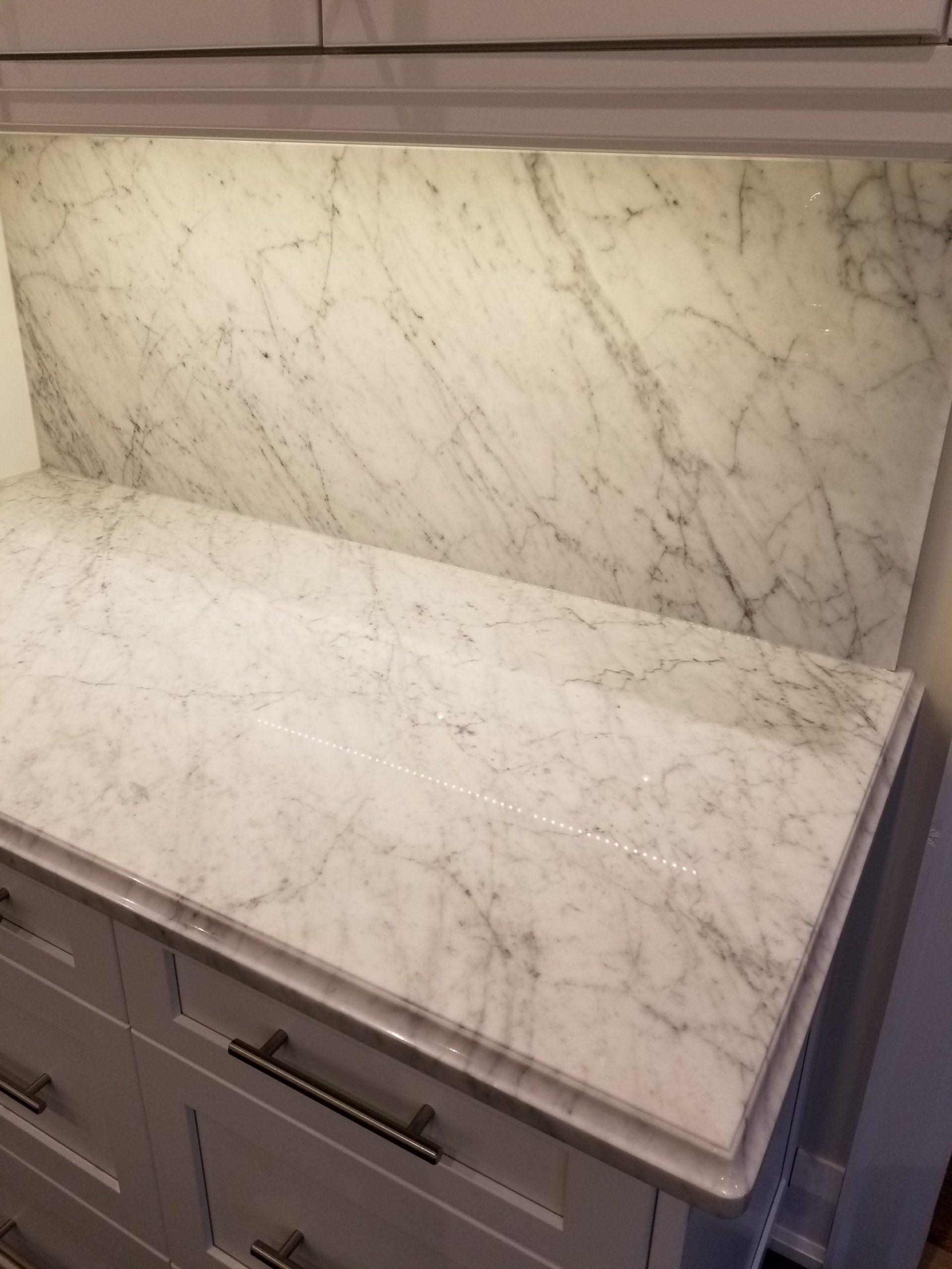 Kitchen Countertop Bianco Carrara C Marble Trend