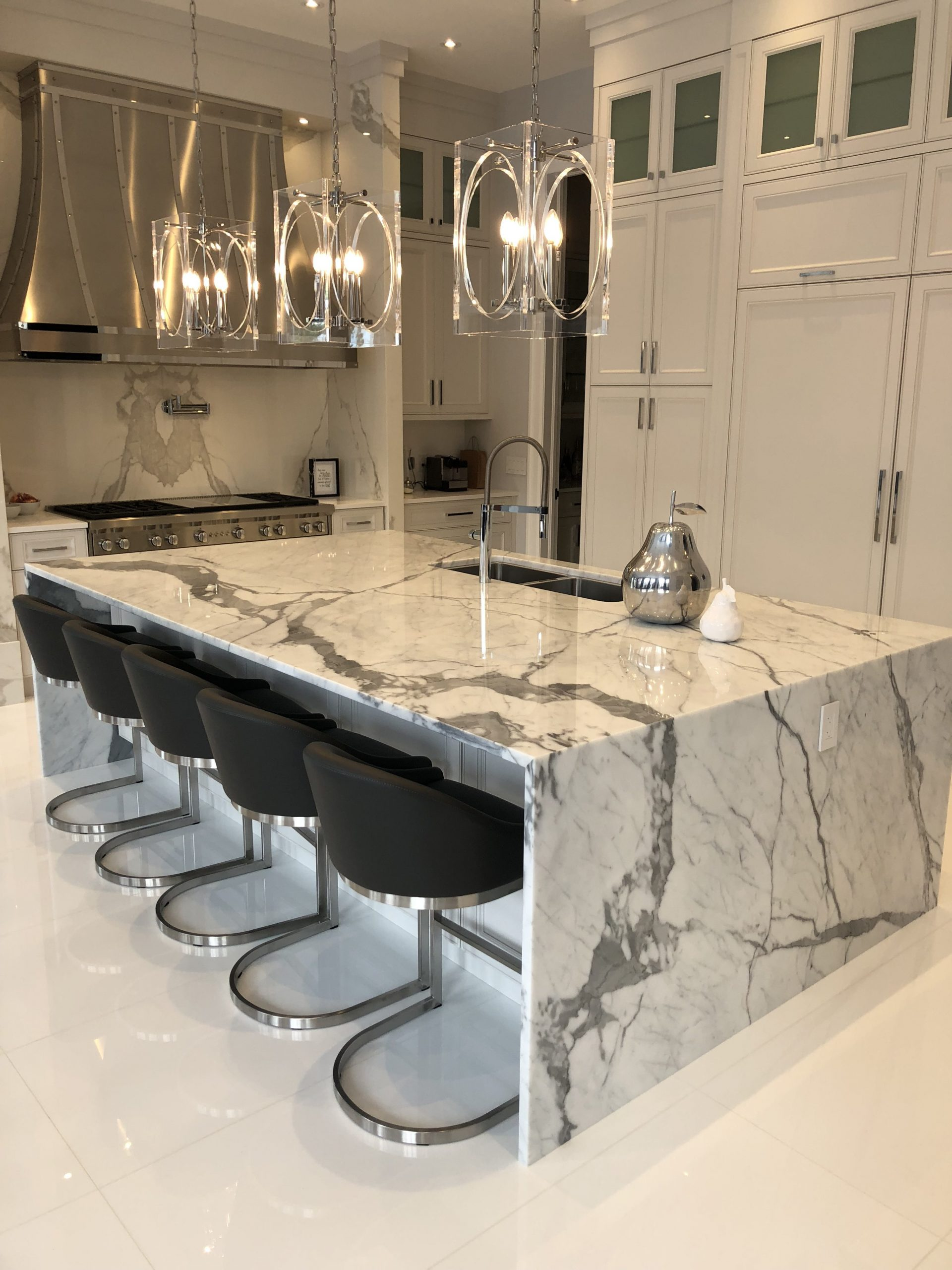 Kitchen Statuarietto And Neolith Estatuario E01 Marble