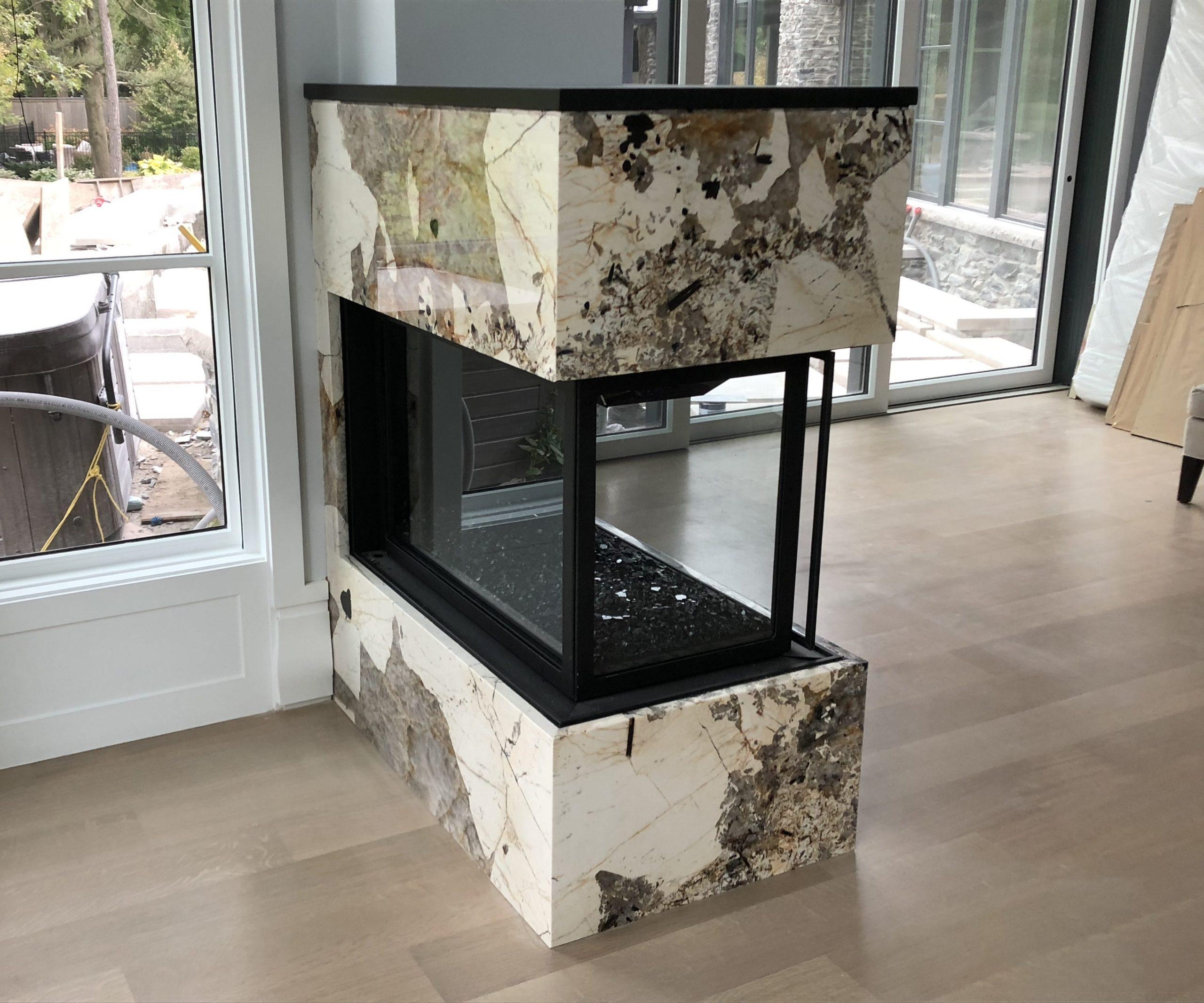 Fireplace - Patagonia Quartzite