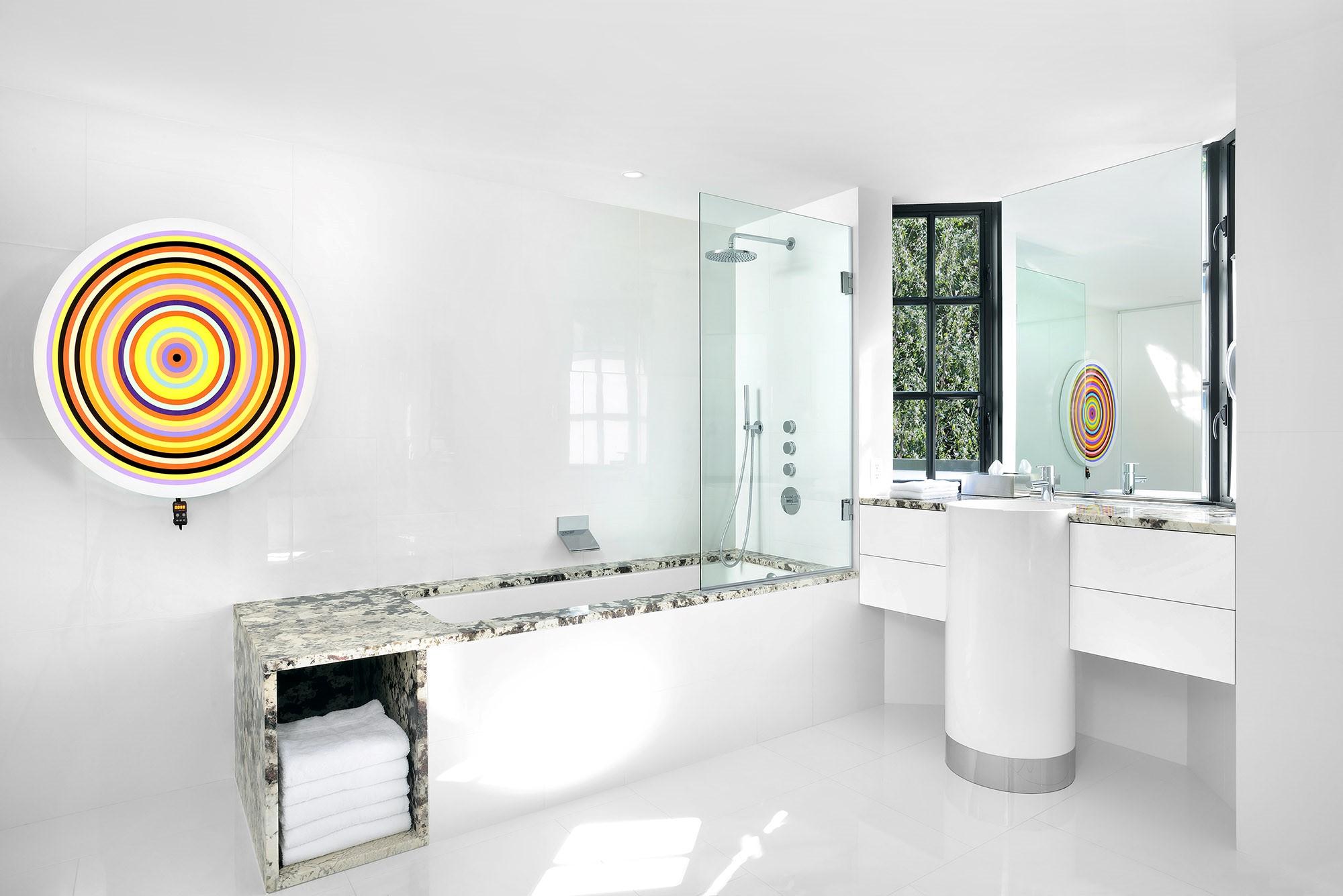 Bathtub & Vanity - Delicatus White | Floor - XL Bianco