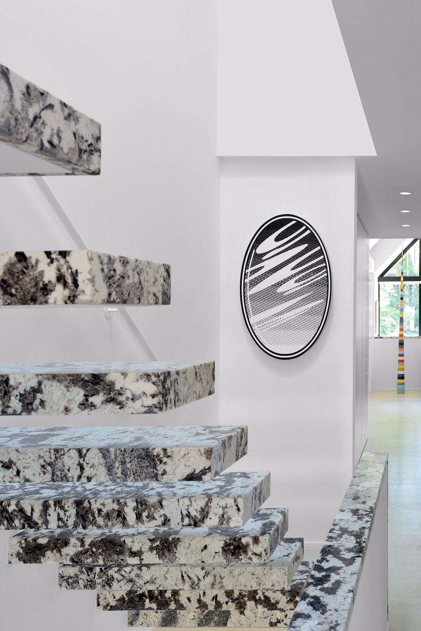 Stairs - Delicatus White Granite