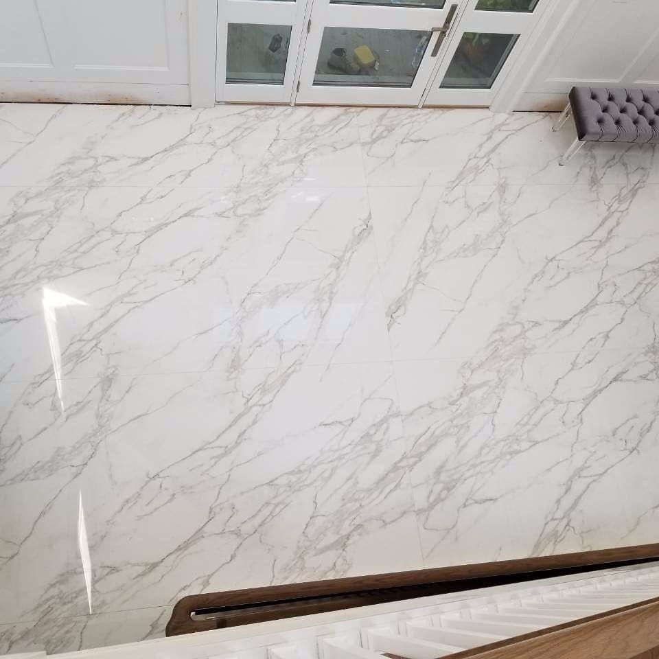 Neolith Calacatta Polished (aerial view)
