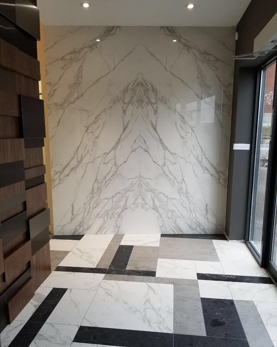 Neolith Calacatta Bookmatched