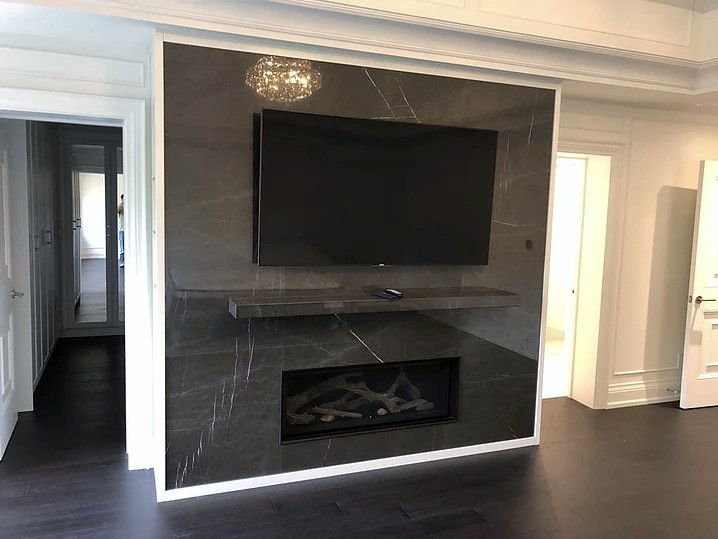 Fireplace Nero Marquina Marble Trend Marble Granite