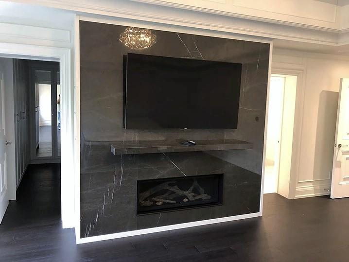 Fireplace: Nero Marquina