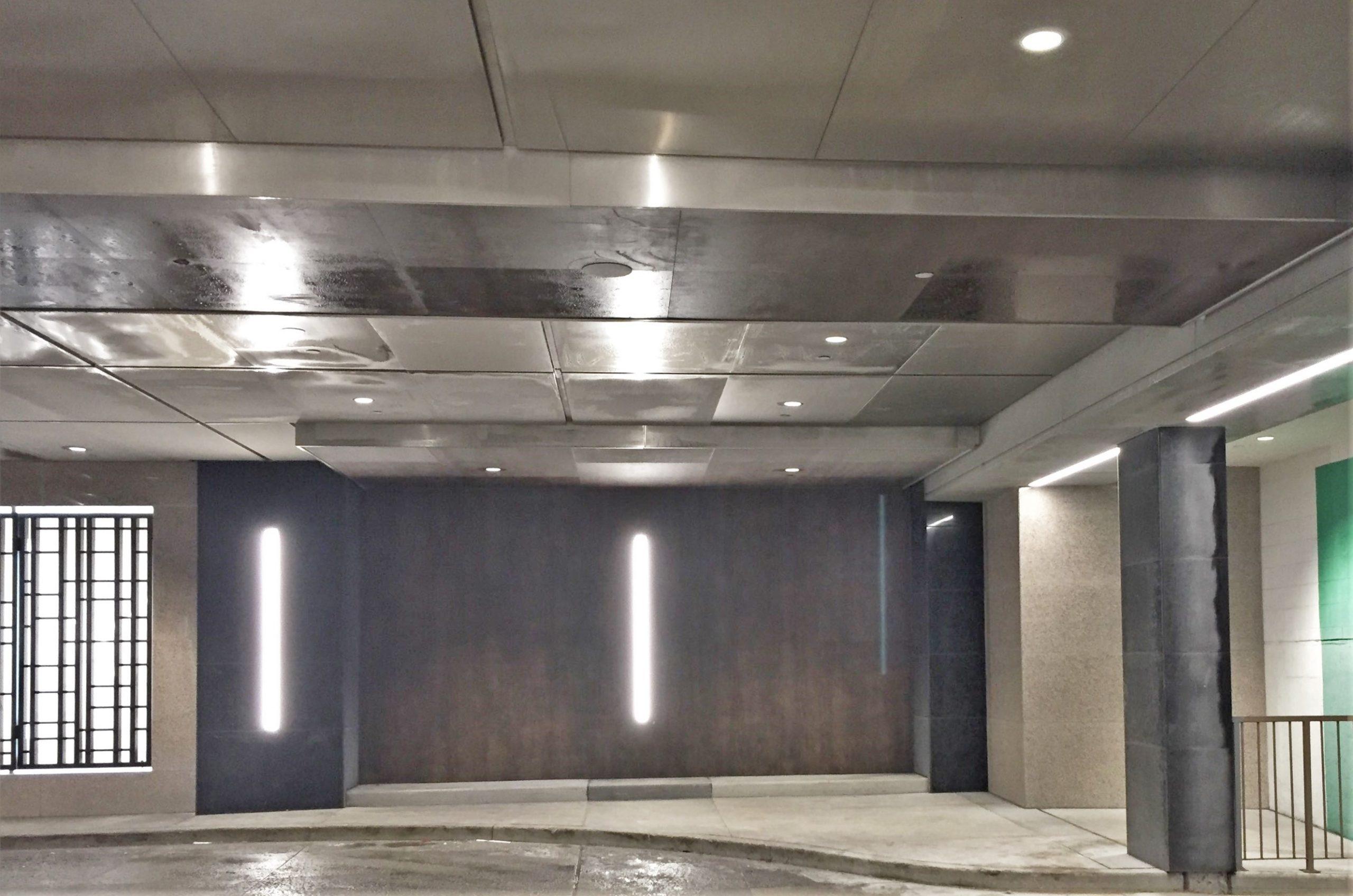 Imperial Plaza, Toronto - Neolith Iron Corten