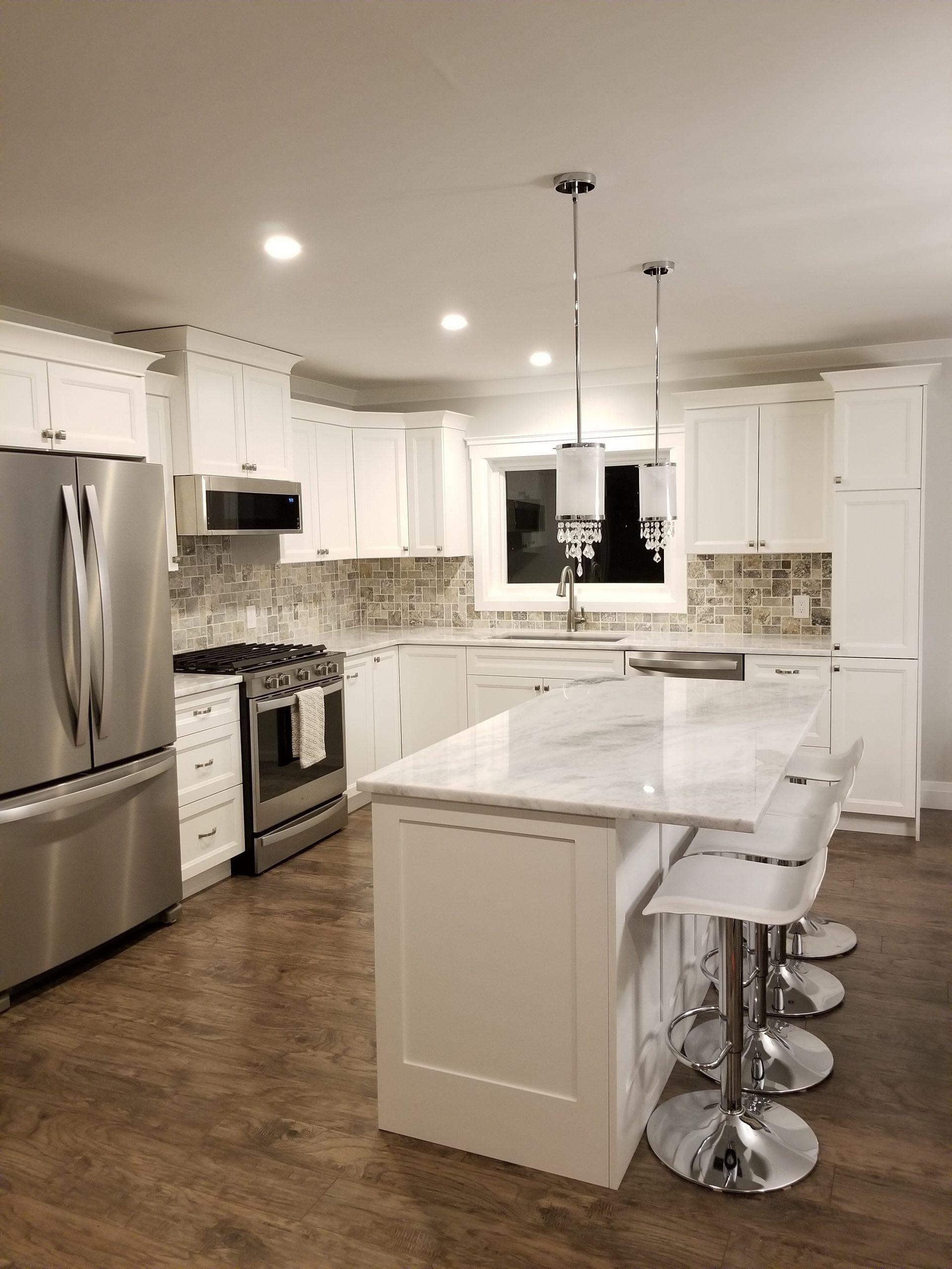 Kitchen Mont Blanc Marble Trend Marble Granite