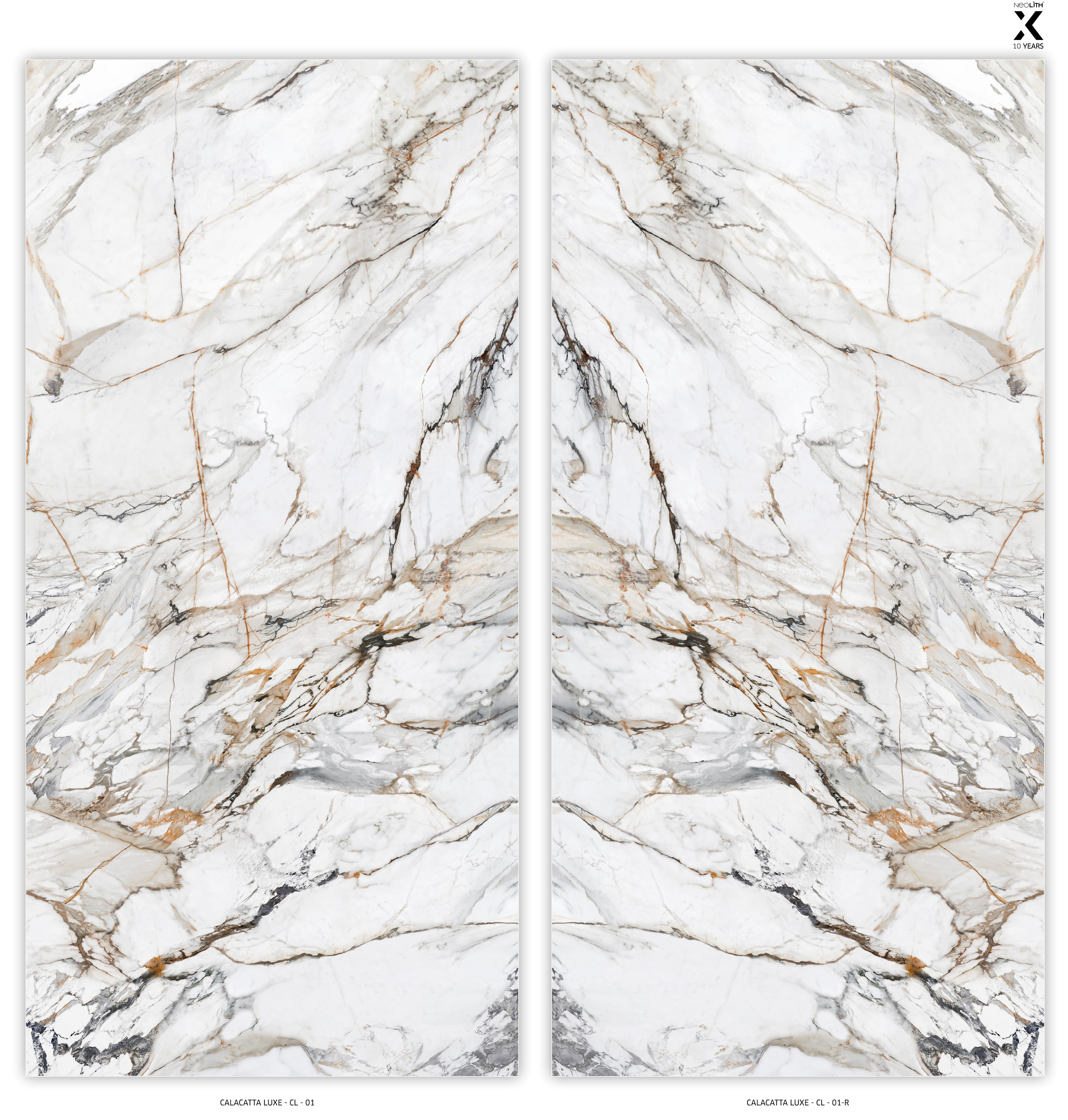 Neolith Calacatta Luxe Marble Trend Marble Granite
