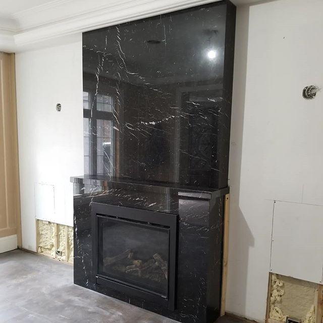 Fireplace Seta Grigio