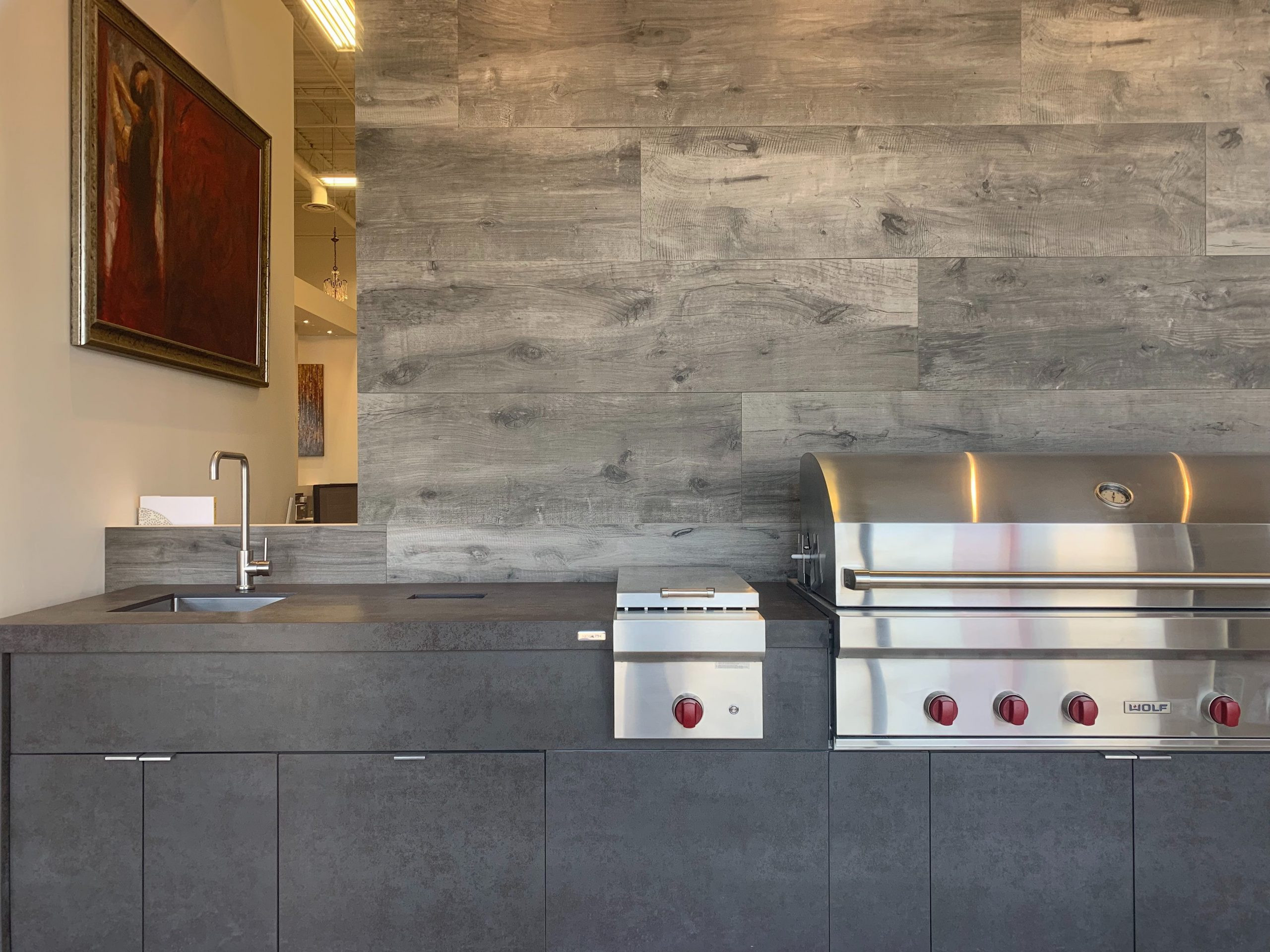 Barbecue - Iron Grey | Wall - Dakota Grigio