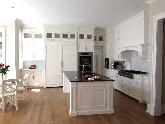 Kitchen - Bianco Carrara, Grigio Carnico