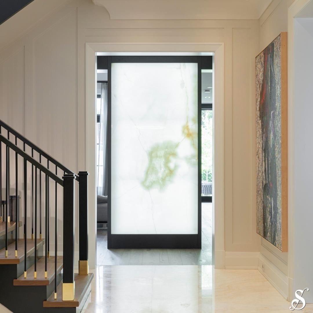 Hallway Feature Slab - ONYX
