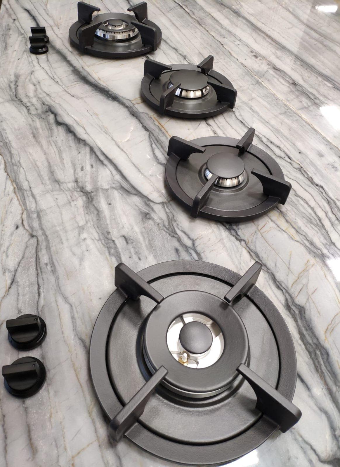 Platinum Quartzite & PITT Burners
