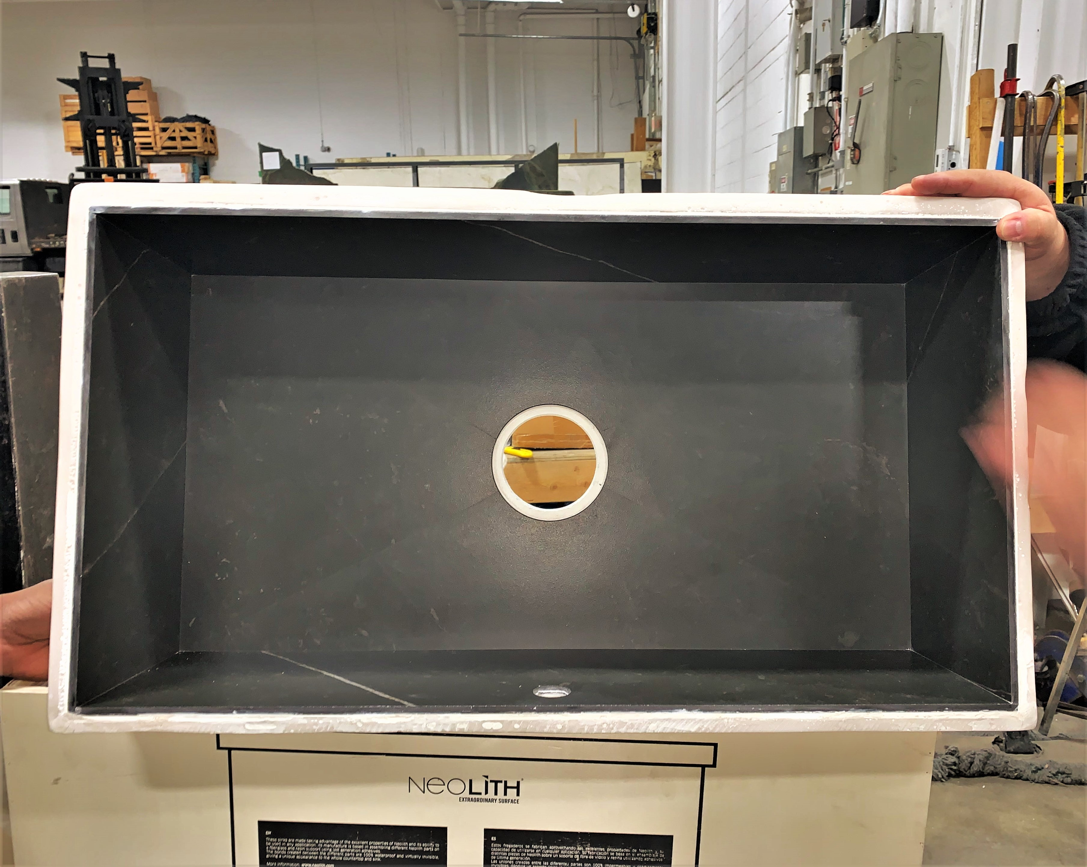 Custom Sink: Neolith Calatorao
