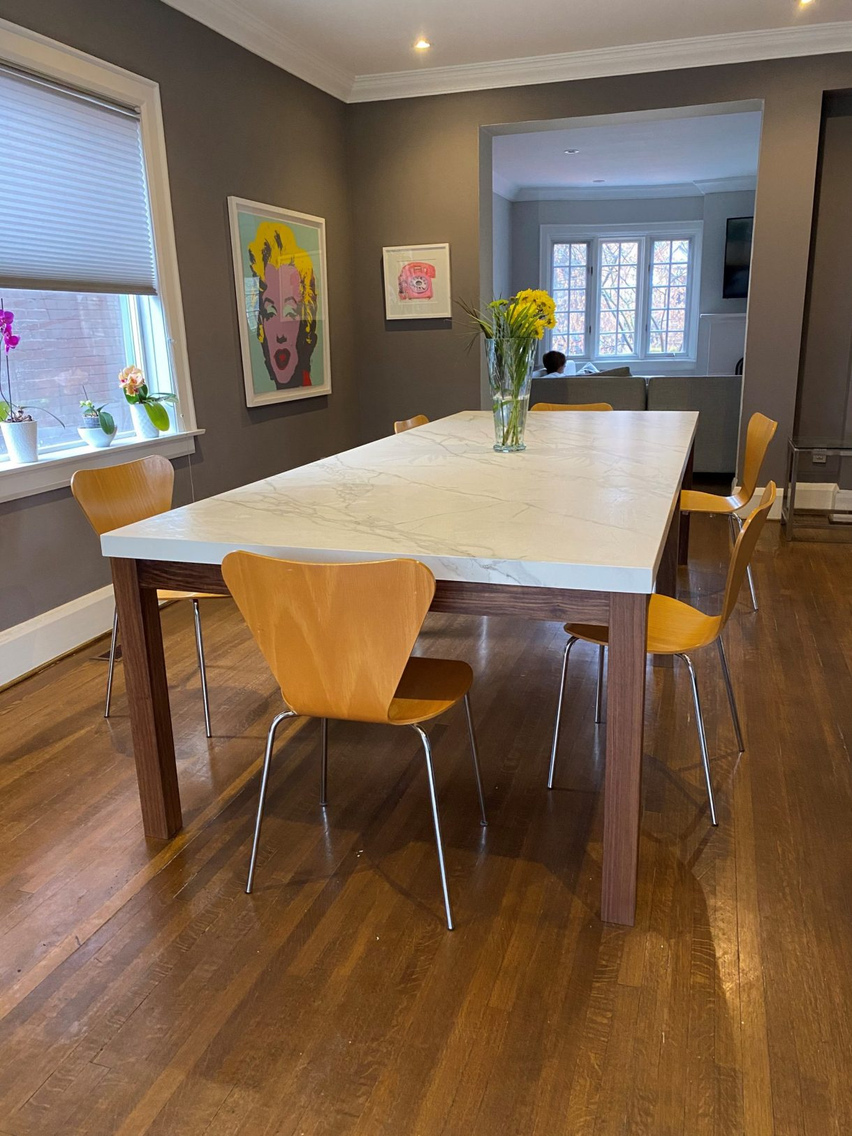 Kitchen Table: Neolith Calacatta  Marble Trend  Marble, Granite