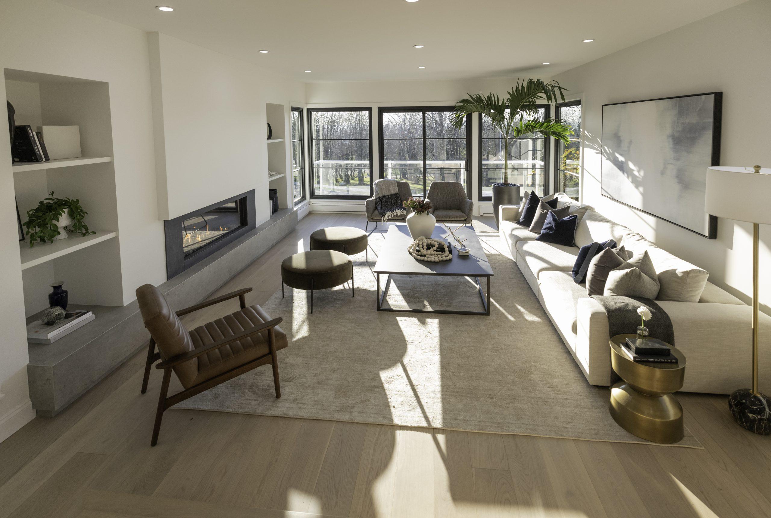 Living Room: Neolith Beton