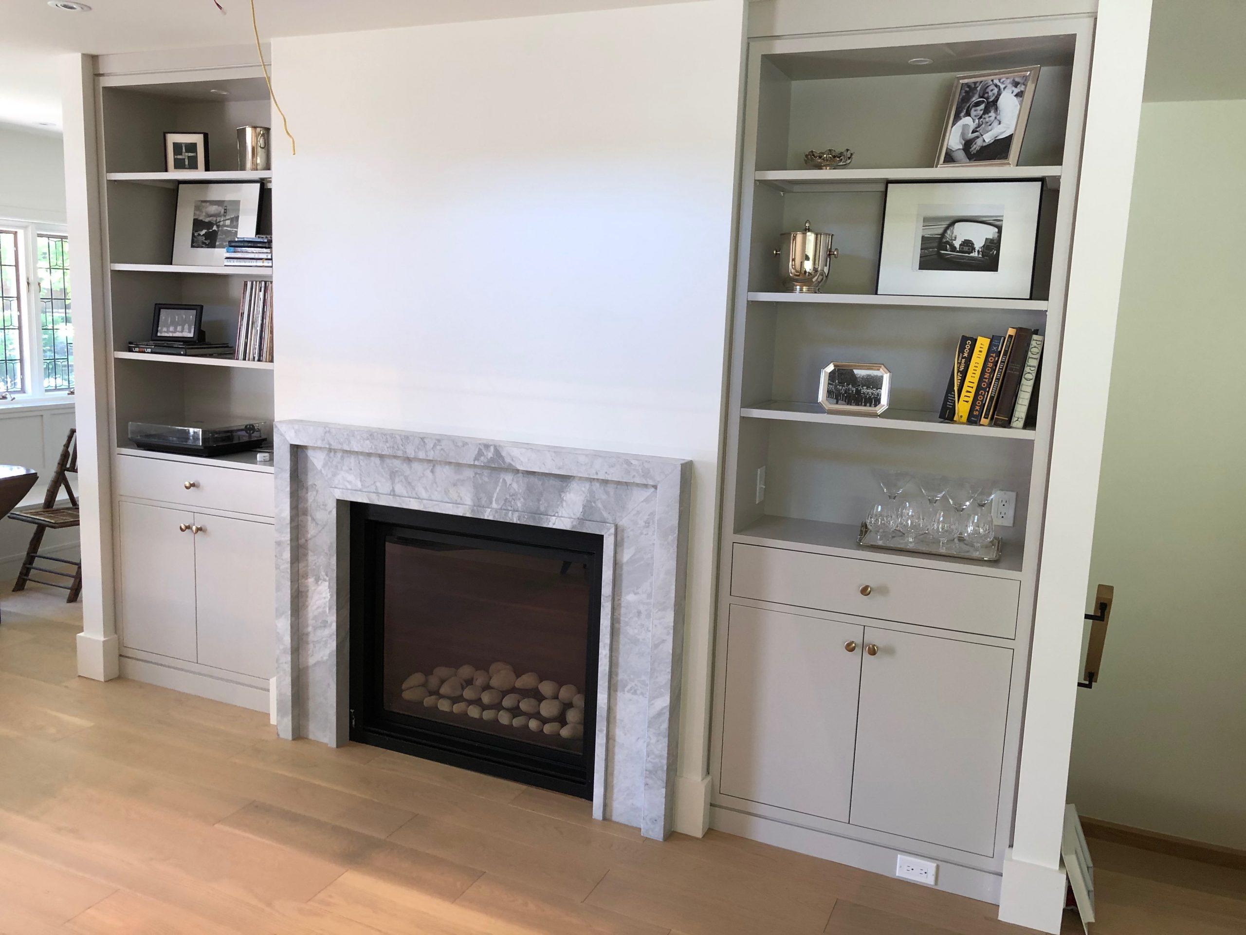 Versilis Marble Fireplace