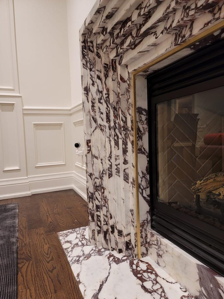 Calacatta Viola Fireplace_EWS Design_TL