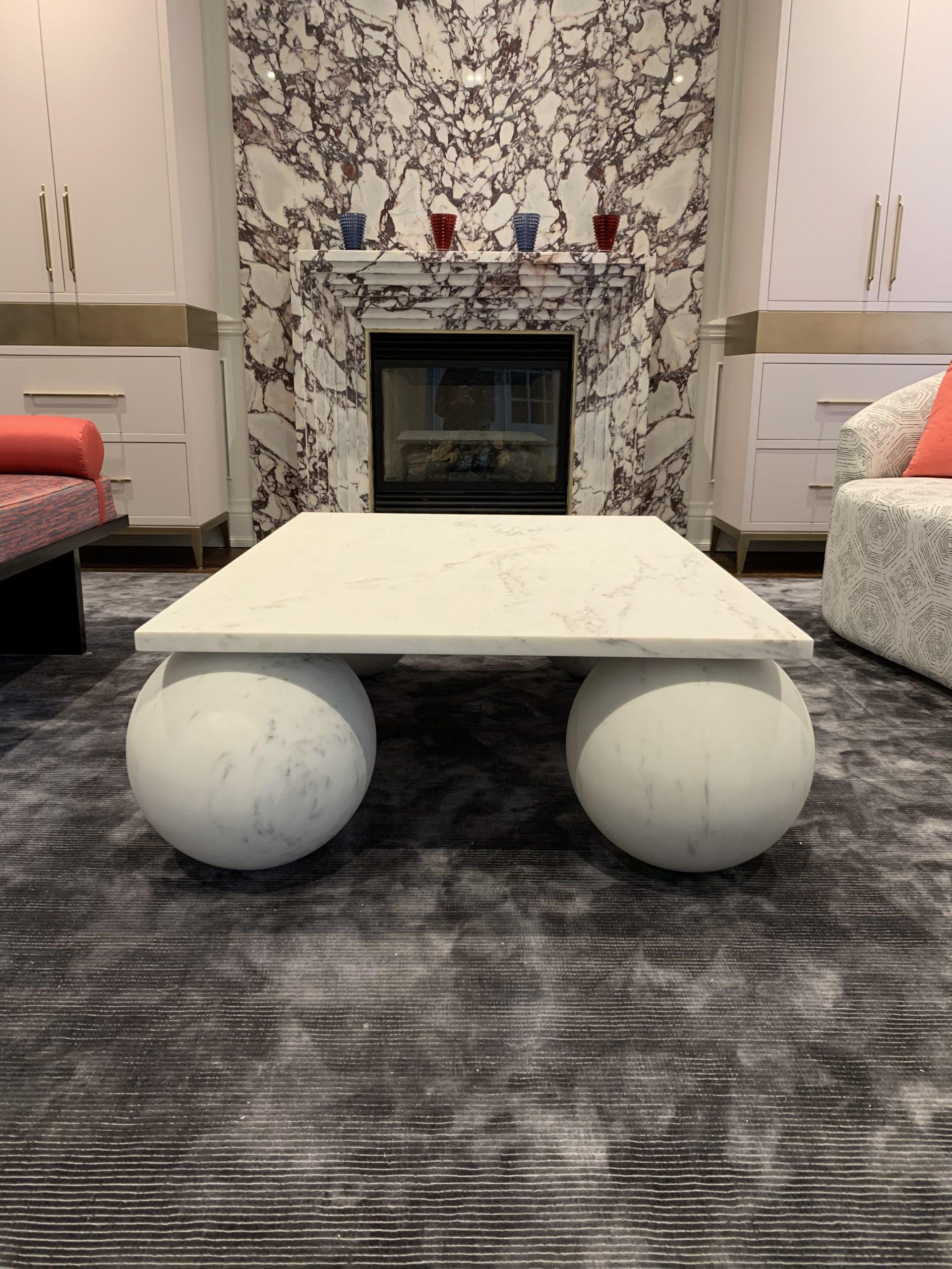 Bianco Del Re Custom Table