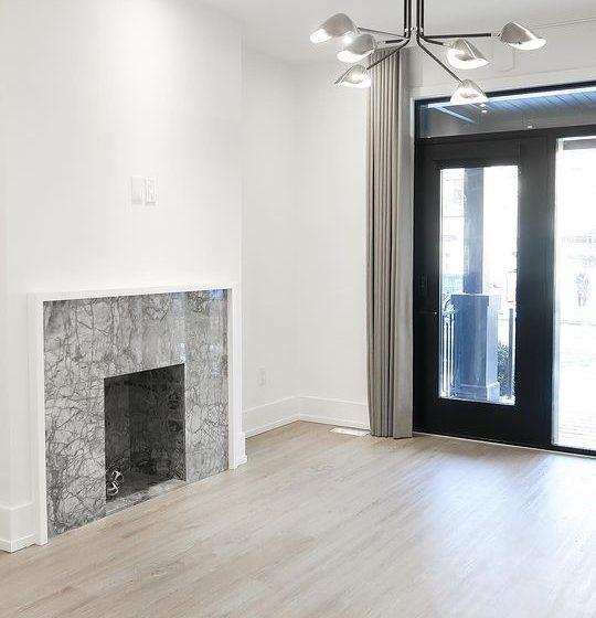 Grigio Fantastico Fireplace